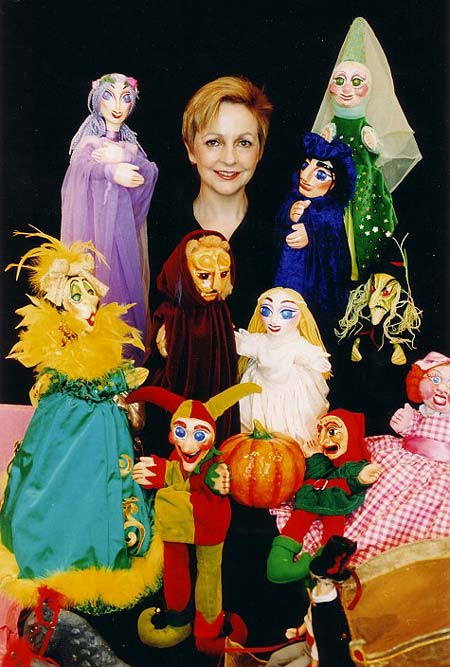 Claire's amazing puppet shows are a prefect entertainment feature for children